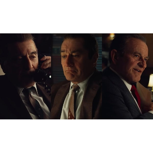 The Irishman trailer pertama