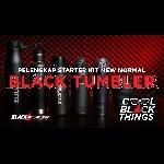 6 Black Tumbler / Vacuum Flask, Pelengkap Starter Kit New Normal