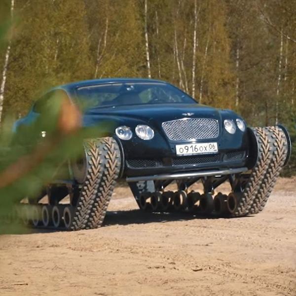 Modifikasi Bentley Continental GT Menjadi Ultratank