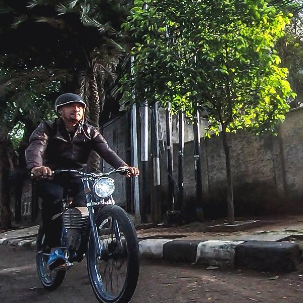 Vintage Electric Bike, Sepeda Listrik Retro Berfitur Canggih