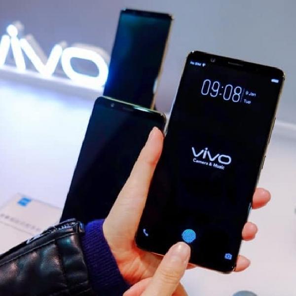 Siap Beredar, Vivo Pamerkan Teknologi Fingerprint di Balik Layar