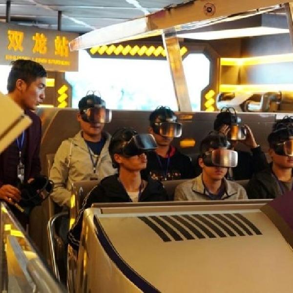 Ini Dia VR Theme Park Pertama di Dunia