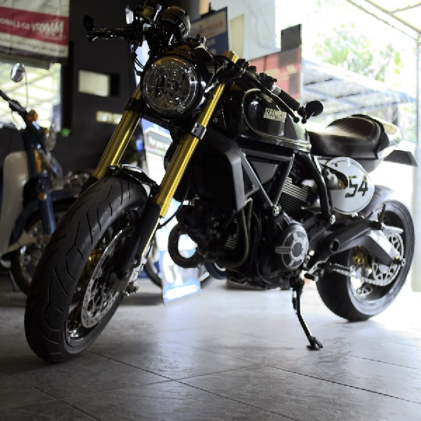 Ducati Caferacer, Modif Minor Aura Urban Lebih Gahar