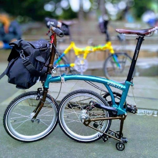 Mirip 'Brompton', Inovasi Sepeda Lipat Lokal 'Kreuz' Jadi Populer