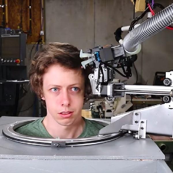 Robot Penata Rambut ala Wighton ini Solusi Cukur Masa New Normal