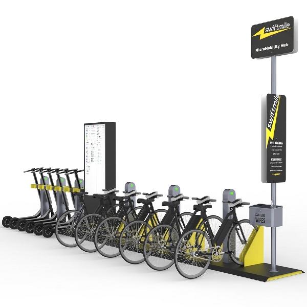 Swiftmile Sediakan Stasiun Pengisian Daya E-Bike Dan E-Scooter Gratis
