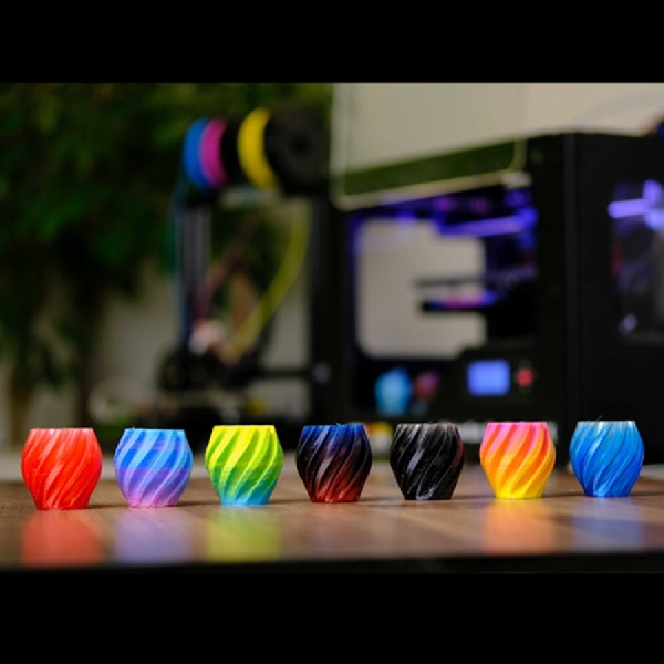 Printer 3D Berwarna Bukan Sekadar Angan