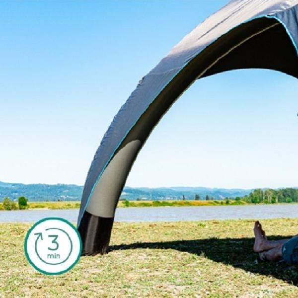 Aeri: Tenda Peneduh Portabel, Mengembang Dalam 3 Menit