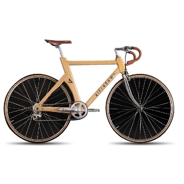 Di Tengah Trend E-Bike, Alfredo Hadirkan Sepeda Konvensional Rangka Kayu