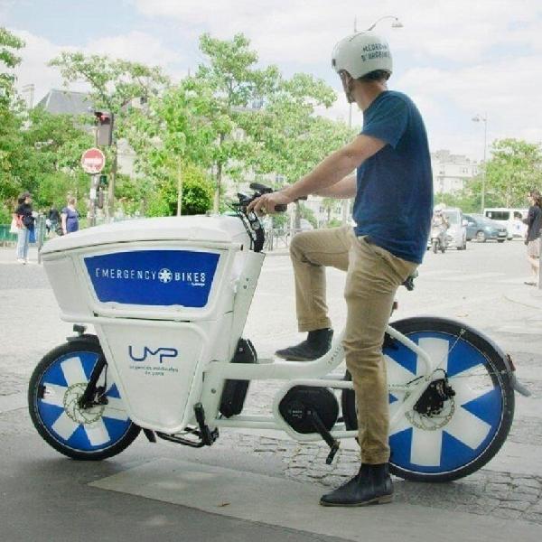 Sepeda Listrik Kargo Ambulans Segera Meluncur di Jalanan