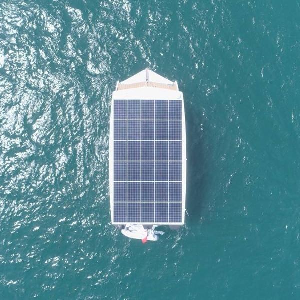 Pesiar Perdana Bertenaga Surya, Bisa Keliling Dunia Tanpa Isi Bahan Bakar