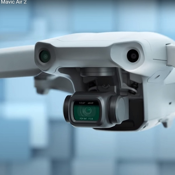 DJI Mavic 2, Peningkatan Pada Camera, Kecepatan dan Waktu Penerbangan