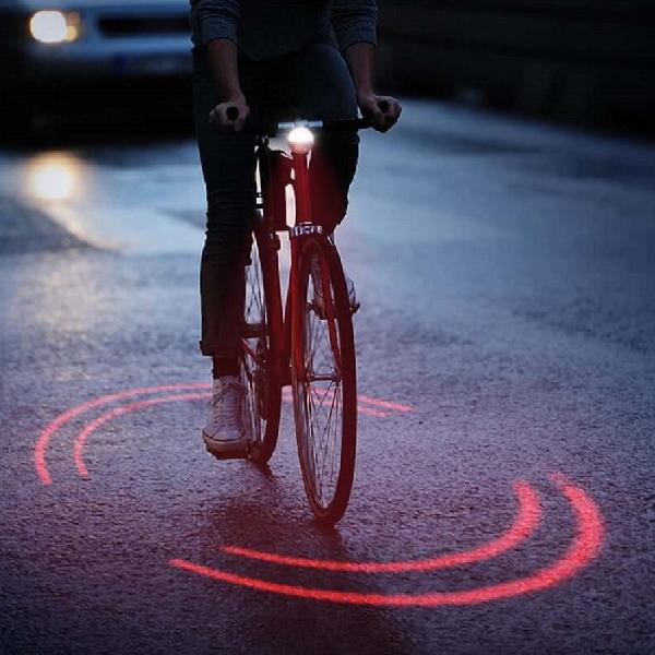 Sistem Pencahayaan Pintar Sepeda Menggunakan Laser