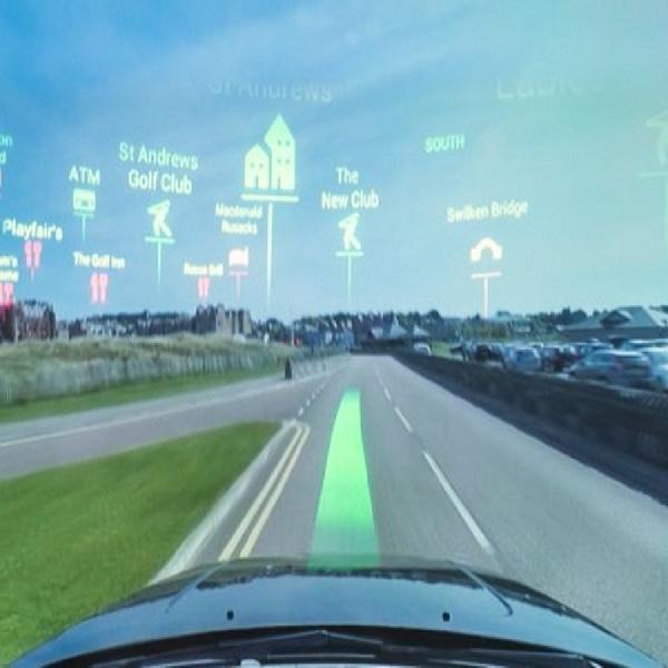 Ilmuwan Kembangkan Hologram di Kaca Depan Mobil, Navigasi Lebih Aman