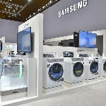 Samsung WW7800M, Washing Machine Bertenaga Artifical Intelligence
