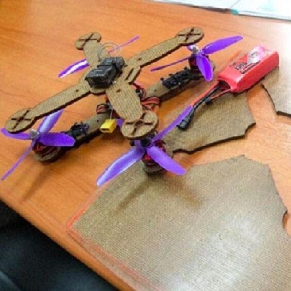 Drone Ramah Lingkungan Dari Daun Nanas
