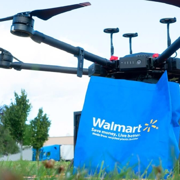 Walmart Uji Coba Drone Delivery yang Cepat