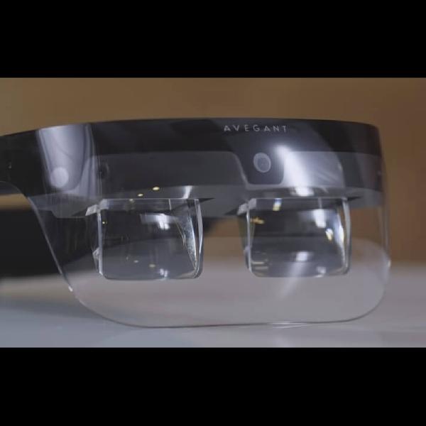 Kacamata Wearable Gabungan dari Perangkat MR Dengan VR