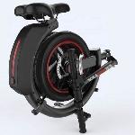 Skuter Listrik Lipat - Ekooter Bagai Cincin Beroda Dengan Pegangan