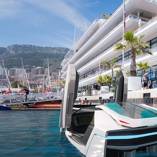 Futur-E Hydrofoil: Desain Speedboat Masa Depan Dengan Performa Supercar