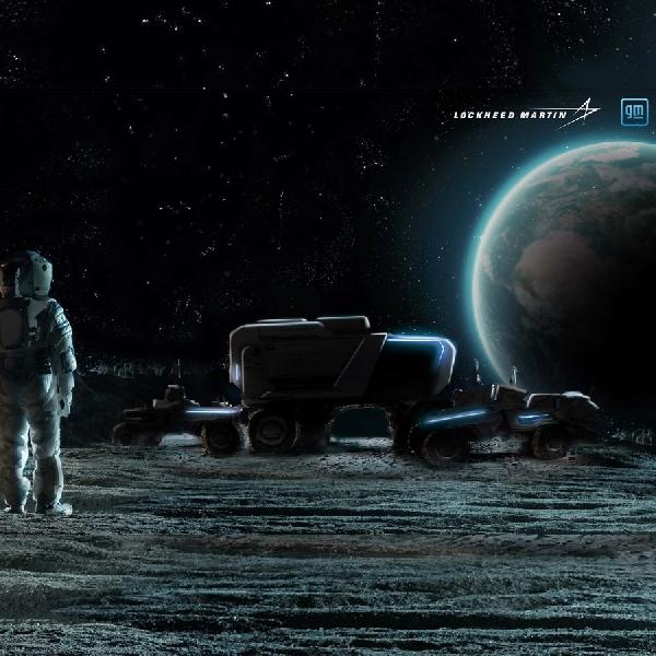 GM Bersama Lockheed Martin Mendesain Moon Buggy Untuk Para Astronot NASA