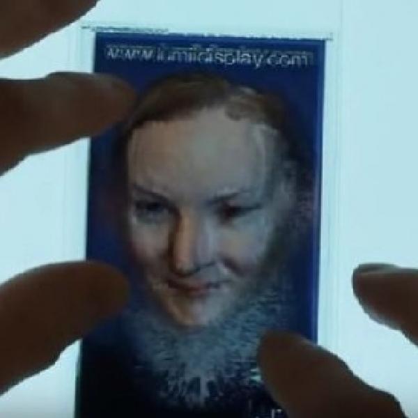 Ciptakan 3D Hologram dari Foto Anda dengan Lumii