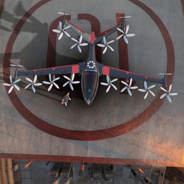 Prototype Taksi Terbang ini Berkemampuan VTOL  dan Terbang Selama 15 Menit