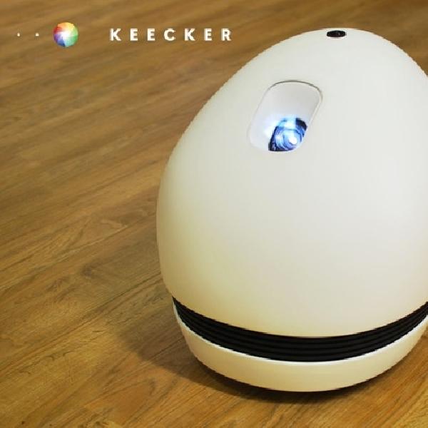 Keecker Robot Telur Multifungsi, Entertainment dan Security System