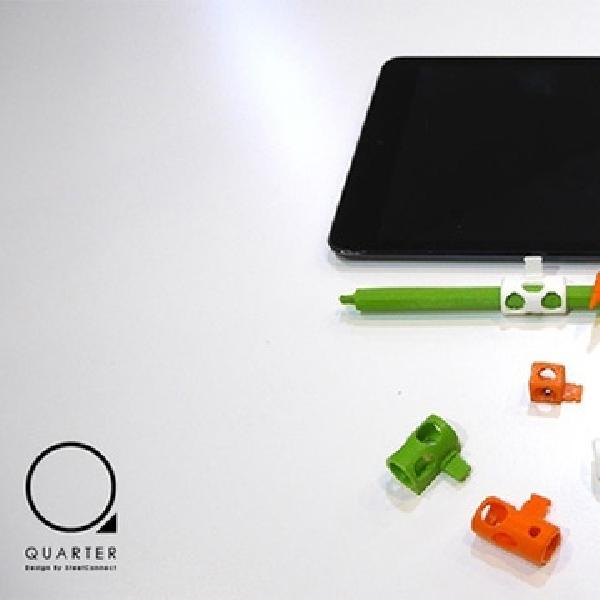 Quarter, Aksesori Inovatif Pastikan Apple Pencil Tak Hilang