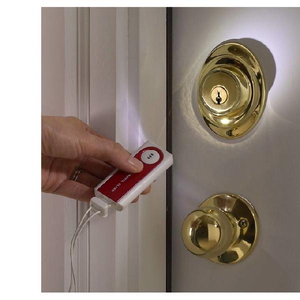 Lewis N Clark Travel Door Alarm, Alarm Pintu Pintar nan Portabel