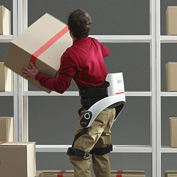 LG  Persiapkan SuitBot Guna Bantu Pekerja Gudang di CES 2019