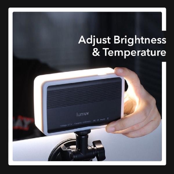 LUMUV iMeet, Lampu Portable Unik untuk Rapat Virtual