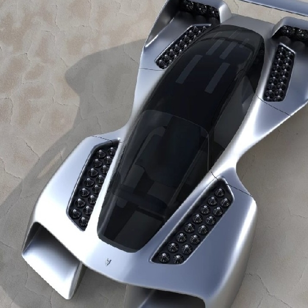 LEO Coupe: Hypercar Terbang Bertenaga Listrik dengan Tampilan Seperti Dalam Film Sci-Fi