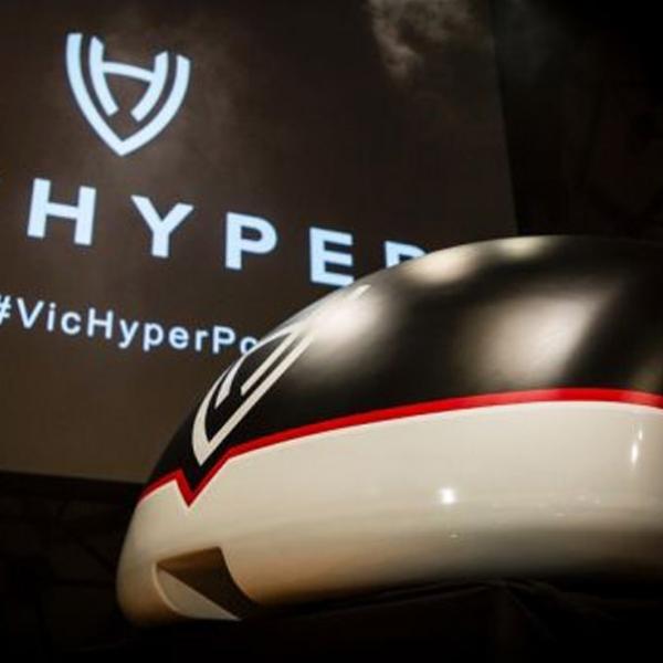 VicHyper, Kereta Kilat Berkecepatan 1200 Kilometer Per jam