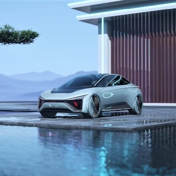 SAIC Motor Kun: Mobil Sport Konsep yang Dapat Dikendarai di Darat, Udara, dan Air