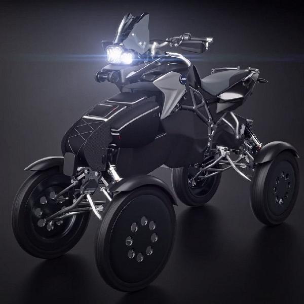 Quad Bike Hybrid Ini Lebih Fleksibel dari Atlit Senam