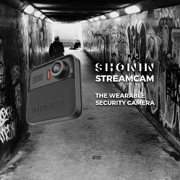 Wearable Berbentuk Kamera Ini Bisa Streaming Video 1080p