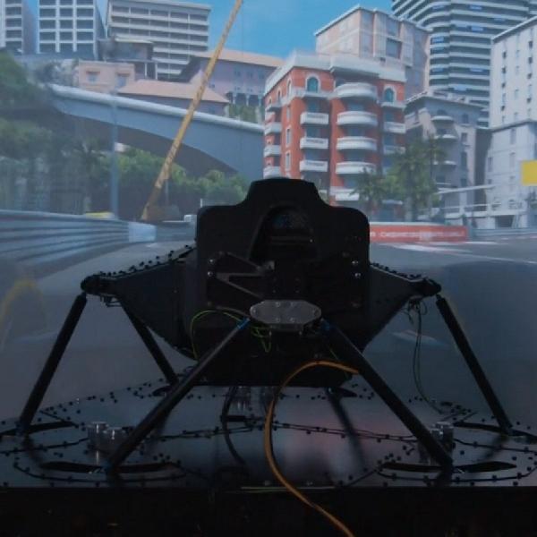 Simulator Mengemudi Tercanggih di Dunia Tawarkan Pengalaman Paling Nyata