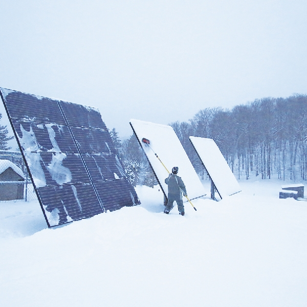 Panel Energi Tenaga Salju