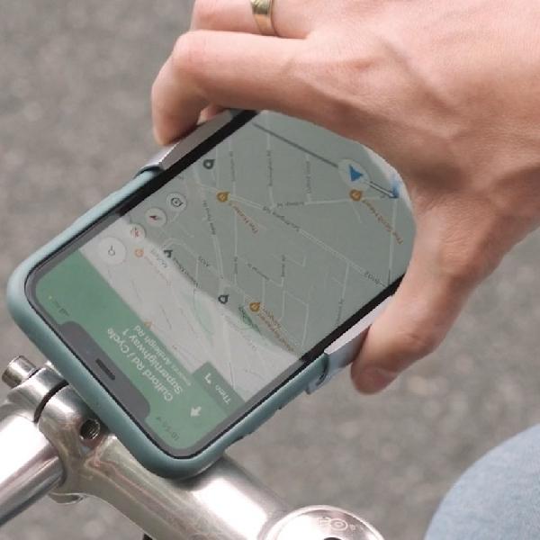 Loop Mount Twist, Dudukan Ponsel Sepeda yang Sederhana Tetapi Jenius