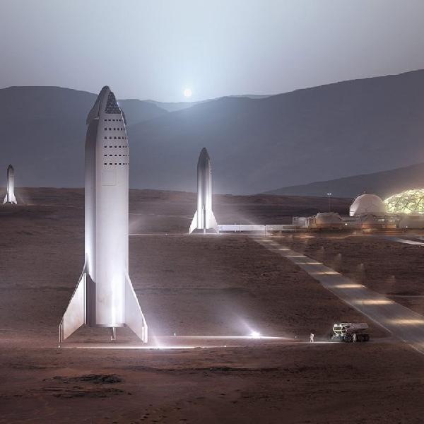 SpaceX Kemungkinan Akan Luncurkan Roket Starship Mars Tahun 2022