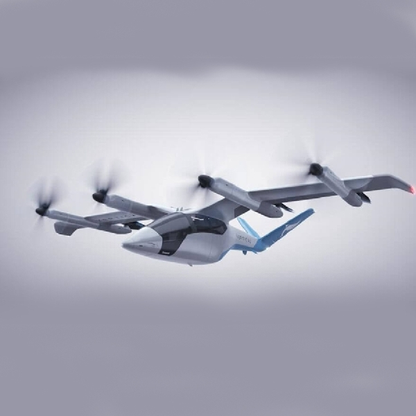 Taksi Listrik 'Terbang Vertikal' Pertama Di Dunia Akan Mulai Produksi