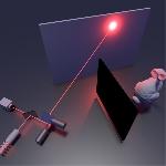 Teknologi Laser  Mampu Proyeksi Obyek di Tikungan Tajam