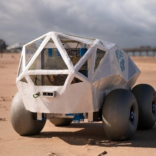 BeachBot, Robot Pembersih Puntung Rokok di Tepi Pantai