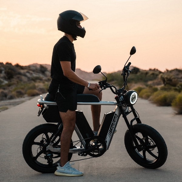 HyperScrambler 2 Juiced Bikes Mampu Menempuh 100 Mil Lebih