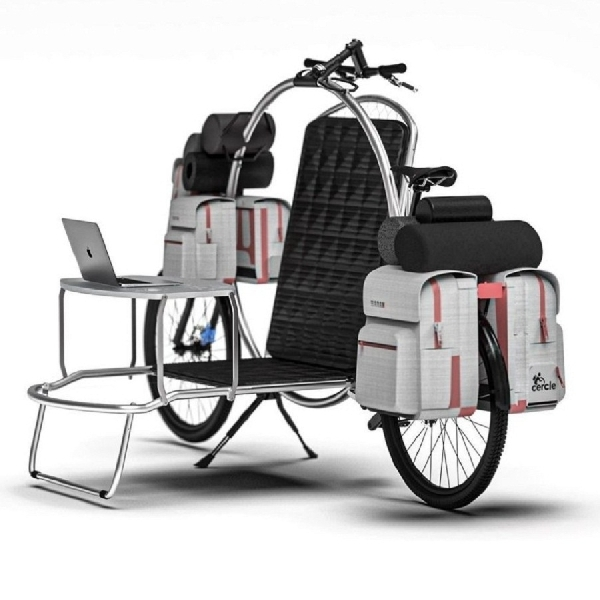 Cercle: Sepeda Real-Life Transformer yang Dapat Berubah Menjadi Rumah