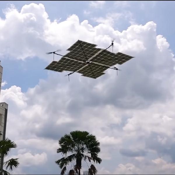 Berbekal Panel Surya, Drone Ini Mampu Terbang Selama Beberapa Jam
