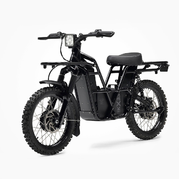 Uniknya E-Bike UBCO 2x2, Warna Gelap dan Tampil Garang