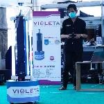 Violeta, Robot Pembasmi Covid-19 Karya Anak Bangsa