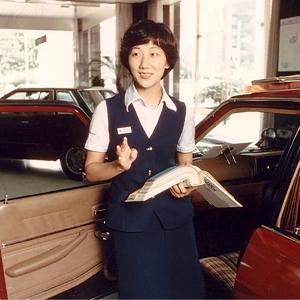 Kyoko Shimada, Desainer Otomotif Wanita Pertama di Jepang